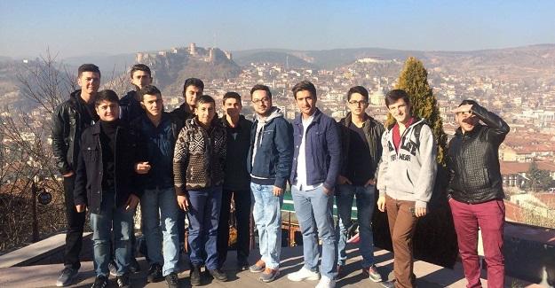 Kargılı öğrenciler Kastamonu'yu gezdi