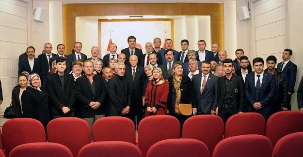 MHP Kastamonu teşkilatlarından Ankara'ya çıkarma!