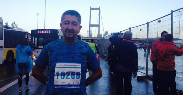 Rıdvan Şükür, İstanbul Maratonunda Koştu