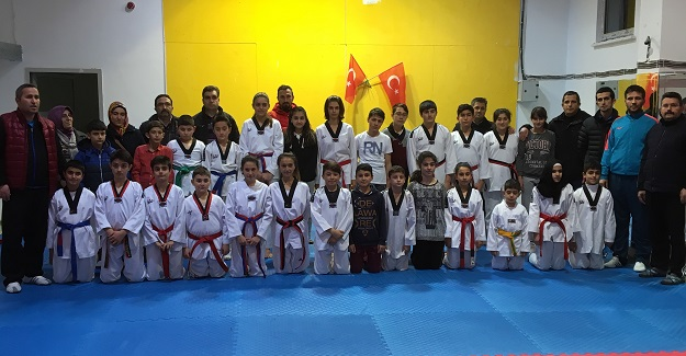 ANALİG'te Taekwondo seçmeleri yapıldı