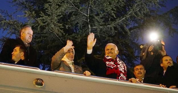 Başbakan Yıldırım Kastamonu'da
