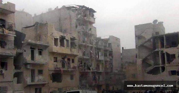 Esad rejimi Halep'te sivilleri katletti