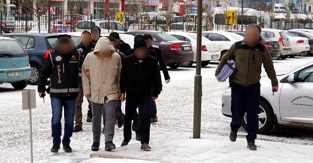 Kastamonu'da FETÖ soruşturmasında 16 tutuklama