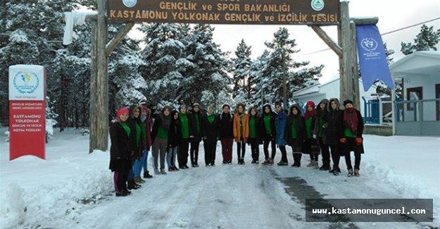 Kış Gençlik Kampları'na yoğun ilgi