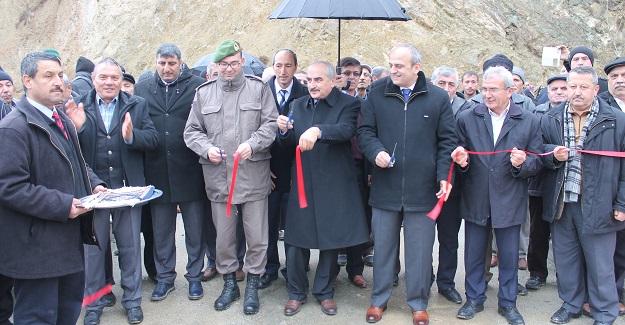 Kızılöz Köprüsü hizmete açıldı