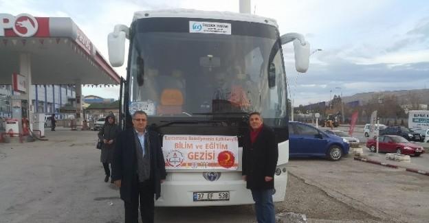 Kuzyaka Ortaokulu ve BİLSEM, Ankara ve Konya'yı gezdi