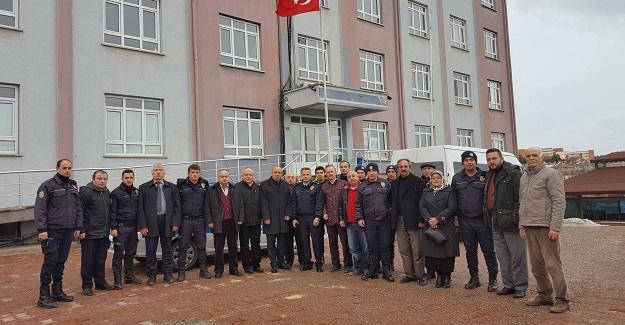 MHP'den Çevik Kuvvet ekiplerine ziyaret