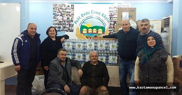 Pelitovası Derneği'nden Halep'e yardım!
