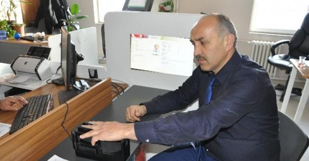 Pınarbaşı'da çipli kimlik kartları 2017'de dağıtılacak