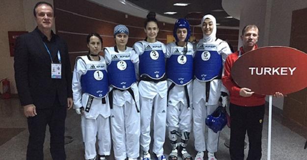 Taekwondo'da Dünya Üçüncülüğü
