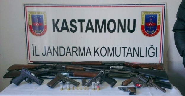 Taşköprü'de şafak operasyonu: 5 gözaltı