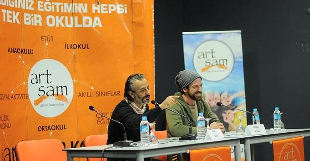 Ünlü oyuncular Artsam'da!