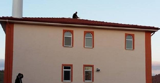 Üyükören Köyü Camisinin adı 15 Temmuz Şehitler Camii oldu