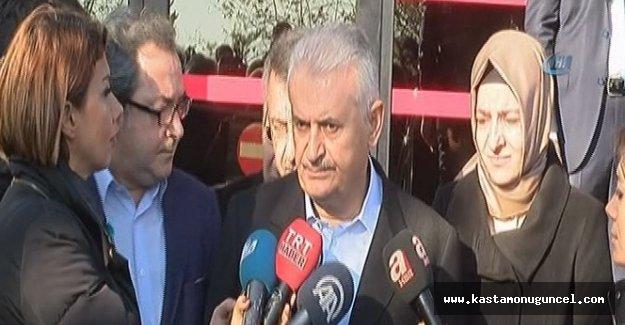 """Yıldırım: """"Saldırı terör örgütü PKK'nın marifeti"""""""