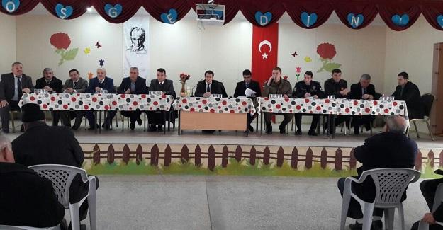 Araç'ta halk bilgilendirme toplantısı düzenlendi