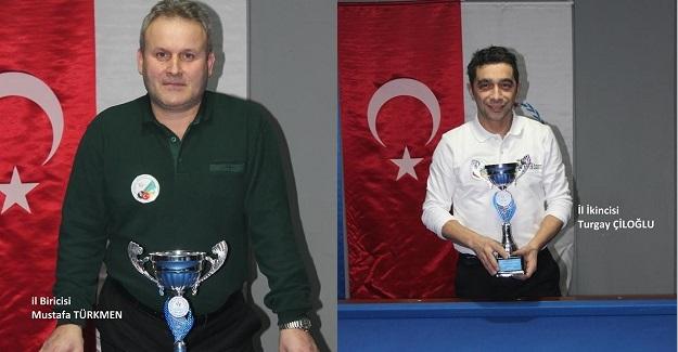 Bilardo İl Şampiyonası sona erdi