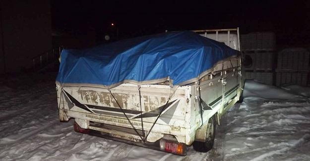 Daday'da odun kaçakçıları kıskıvrak yakalandı