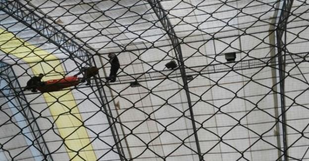 Elektrik akımına kapılan işçiyi, AFAD kurtardı
