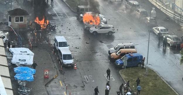 İzmir'de patlama: 2 şehit, 11 yaralı