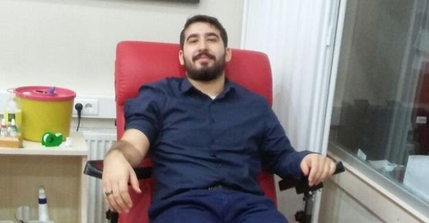 Kan bağışı çağrısına Akgençlik sessiz kalmadı