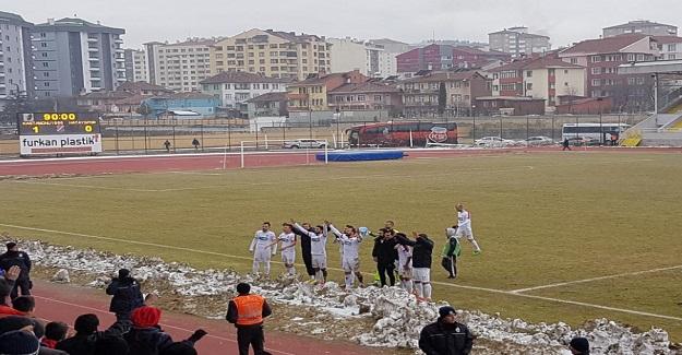 Kastamonuspor 1966 Hatay'ı mağlup etti: 1-0