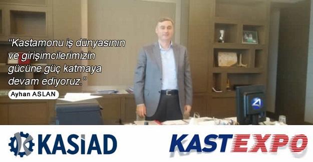 KASTEXPO 2017 için start verildi