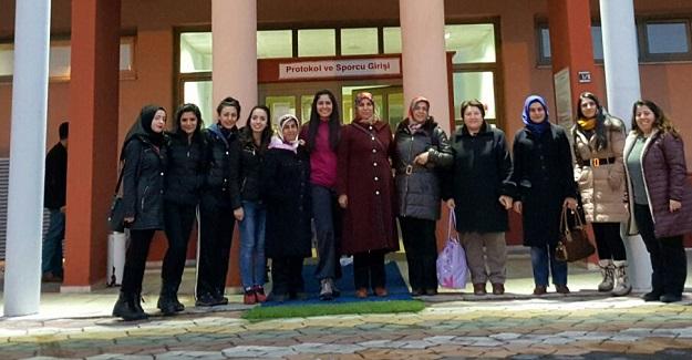 Taşköprü'de bayanlara yönelik yüzme kursu start aldı