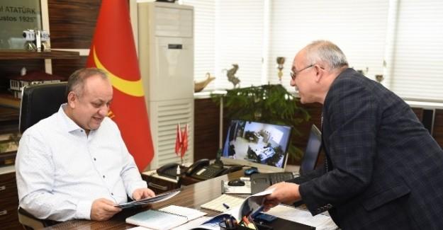 UNESCO'dan Başkan Babaş'a ziyaret
