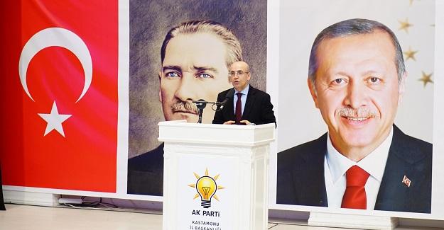 Başbakan Yardımcısı Şimşek, Kastamonu'ya geldi