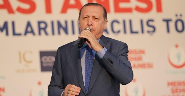 """Cumhurbaşkanı Erdoğan'dan referandum için """"evet"""" çağrısı"""