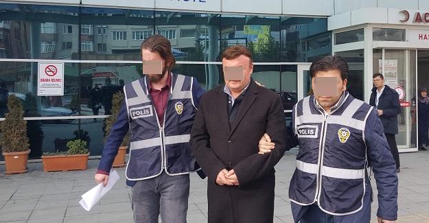 Hakan Eski, FETÖ'den gözaltına alındı