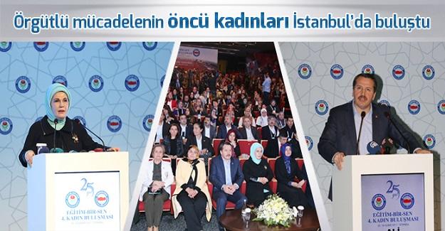 Örgütlü mücadelenin öncü kadınları İstanbul'da buluştu