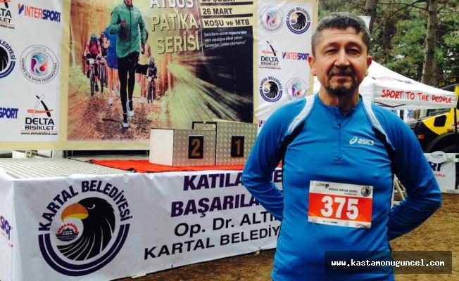 Rıdvan Şükür, Aydos'ta Koştu.