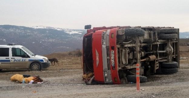Tosya'da trafik kazası: 1 kişi yaralı