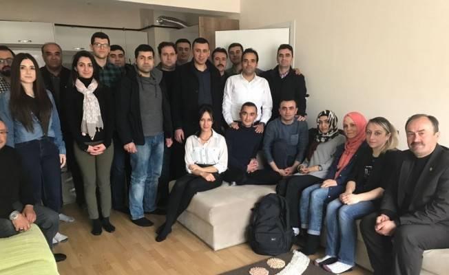 112 Acil Sağlık Ekibinden Gazi Ferdi'ye ziyaret