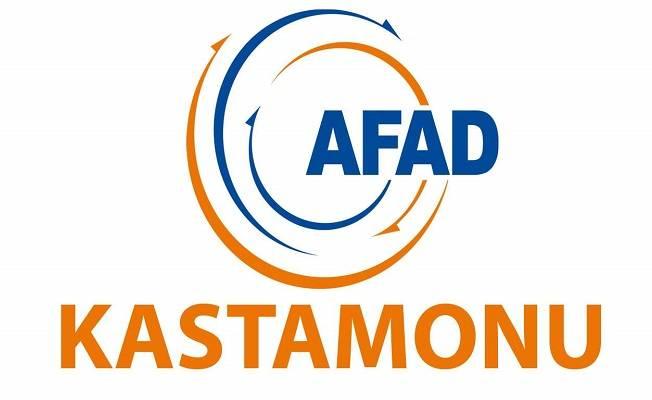 AFAD 77 olayda onlarca hayat kurtardı