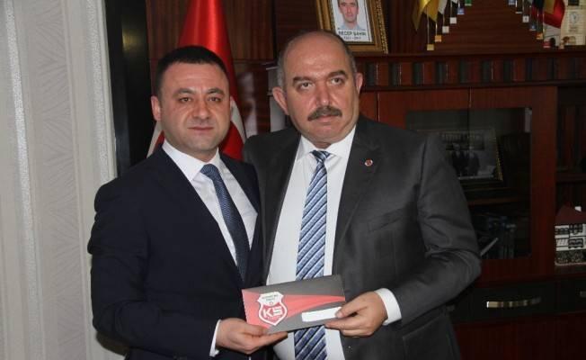 Emniyet Müdürü Karabulak'tan KSK'ye destek