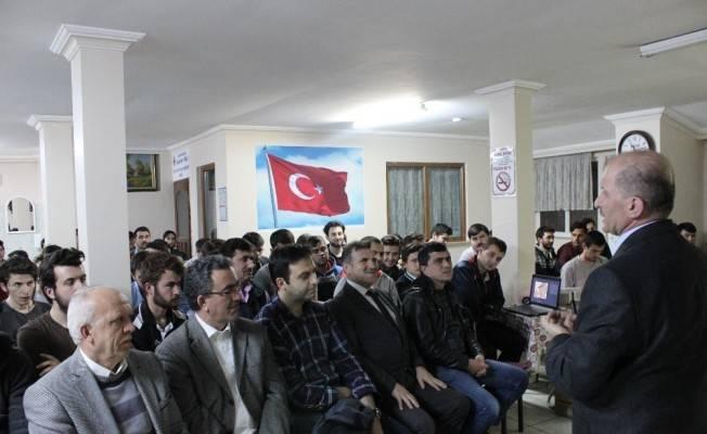 Sıla Öğrenci Yurdu'nda konferanslar devam ediyor