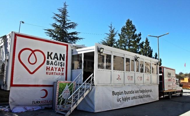 Araç'ta kan bağışı kampanyası düzenlendi