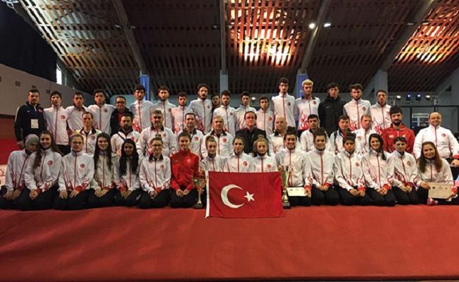 Avrupa Taekwondo Şampiyonası'nda 10 madalya