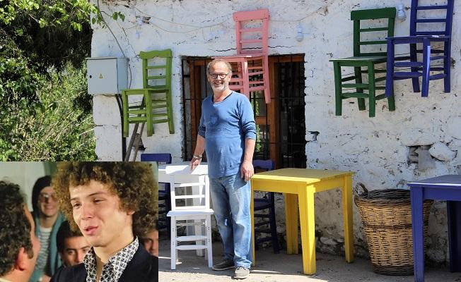 Hababam Sınıfı'nın başrol oyuncusu Bodrum'da tahta sandalye üretiyor