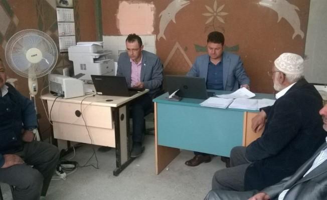 Hanönü'de arazi destekleme kayıtları başladı