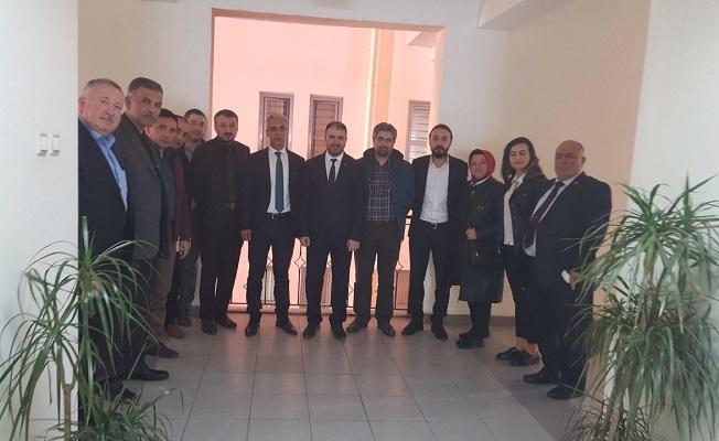 KGC ve BİK'ten Defterdar'ı ziyaret