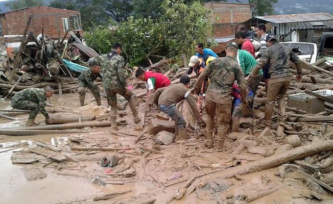 Kolombiya'da facia: 100'den fazla ölü