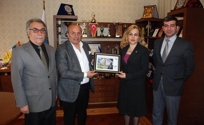 PTT'den Taşköprü Belediyesi'ne özel pul çalışması