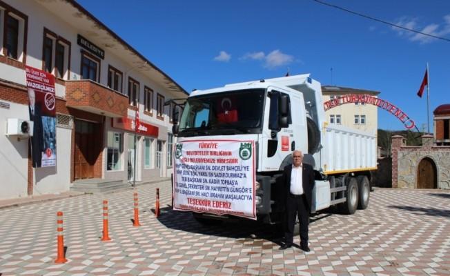TBB, Ağlı Belediyesi'ne kamyon hibe etti