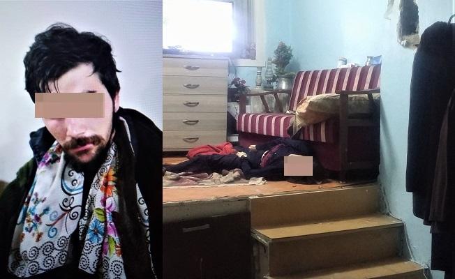 Uyuşturucu bağımlısı genç, annesini boğarak öldürdü!