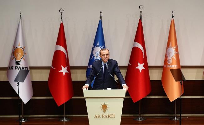 """Erdoğan: """"Yuvama, sevdama, aşkıma yeniden dönüyorum"""""""