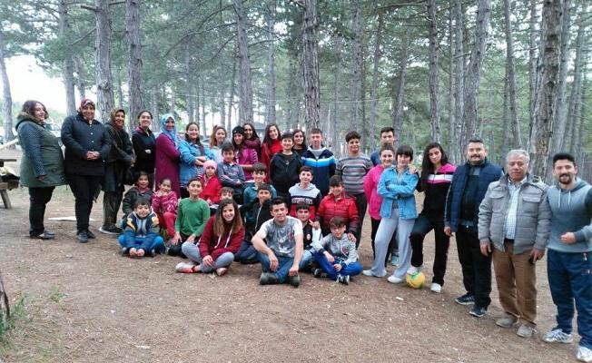 Erişen Spor'lu Taekwondocular piknikte buluştu