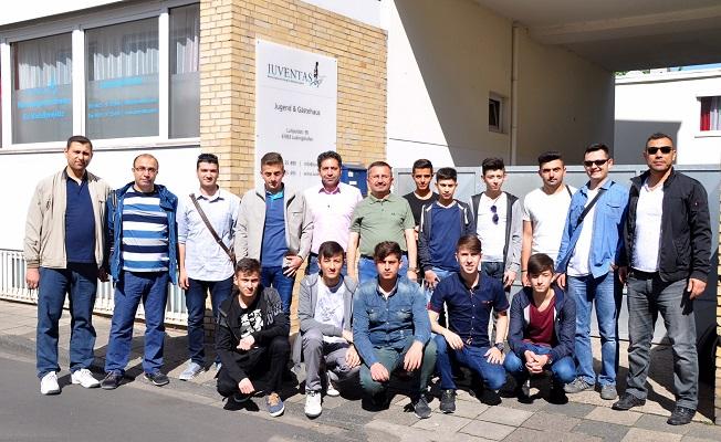 Kastamonulu öğrenciler Almanya'da